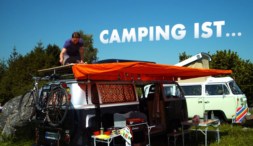 camping werbespot